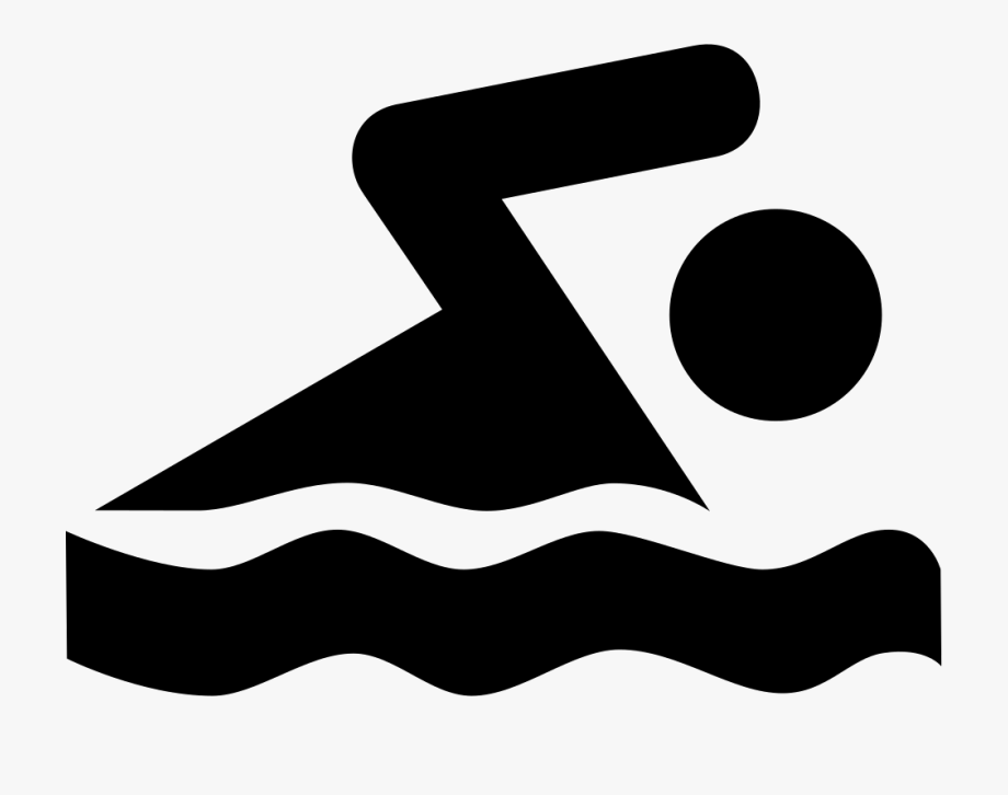 Clipart swimming icon, Clipart swimming icon Transparent.