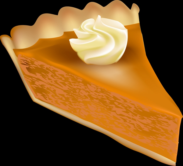 Free Clipart Pumpkin Pie.