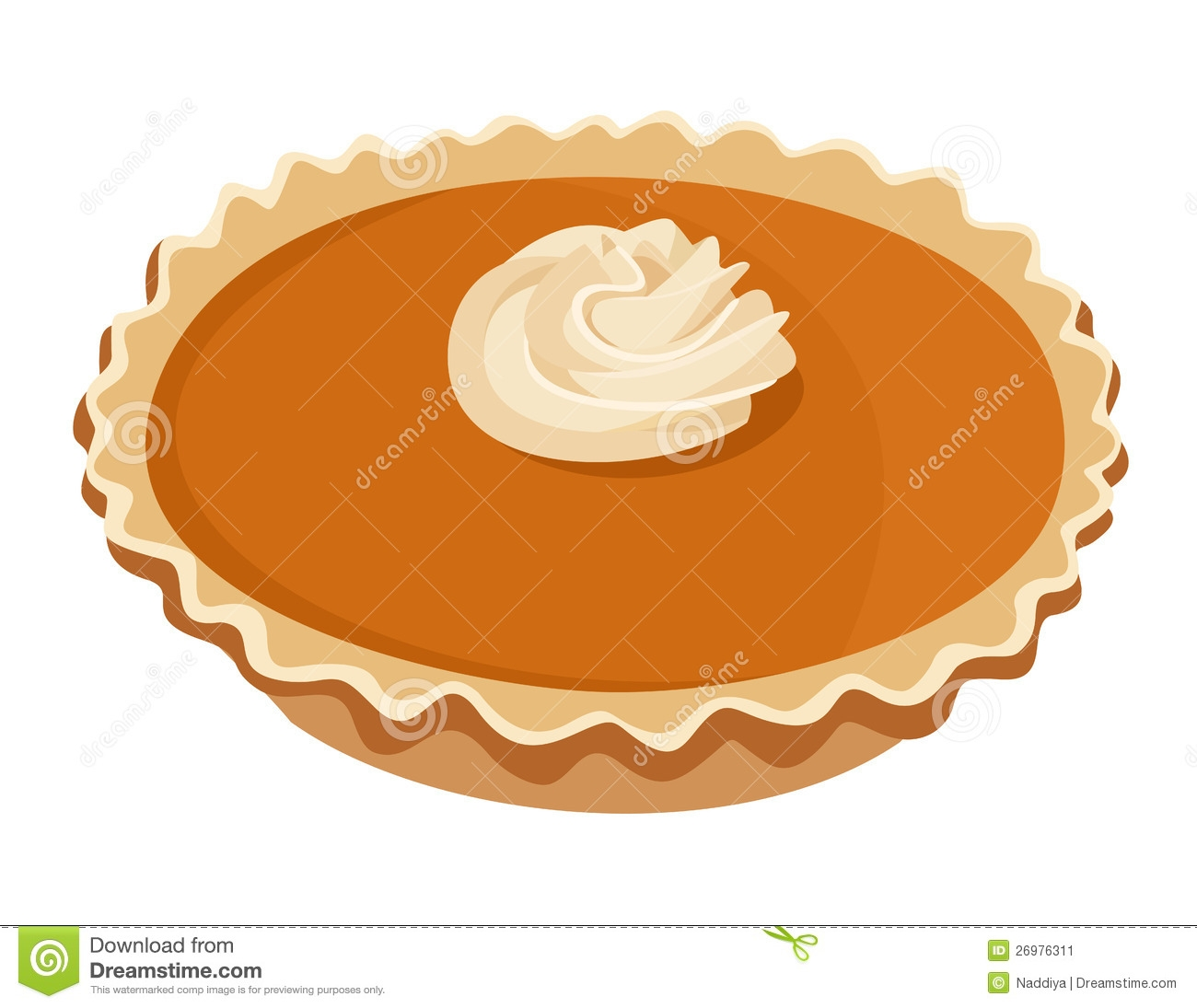 Thanksgiving Pie Clipart.