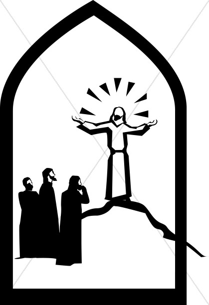 Free Clipart For Transfiguration Sunday.