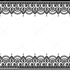 Indian Wedding Cards Vector Clipart.