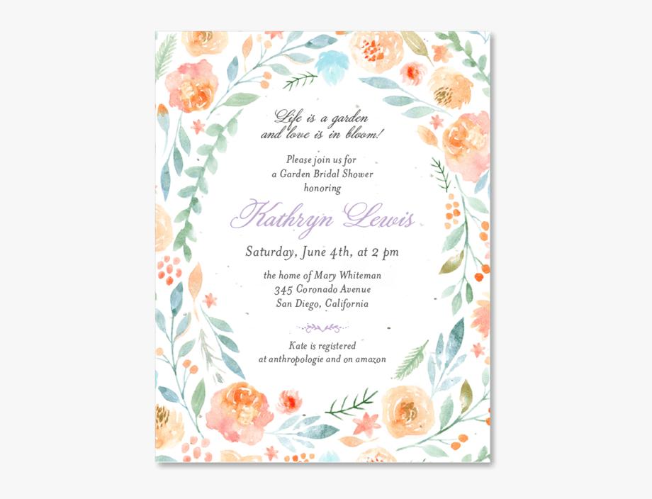 Unique Bridal Shower Invitations.
