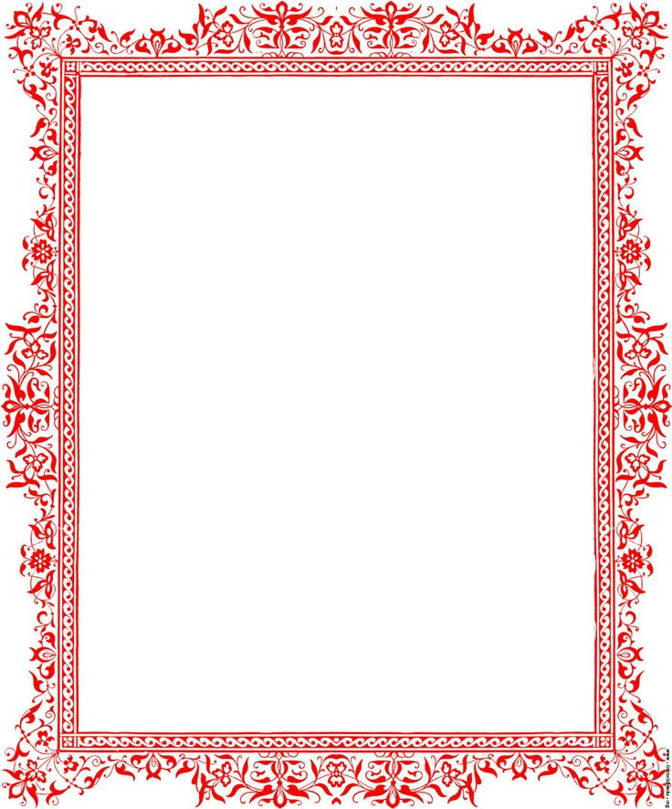 free flower borders for word document #13