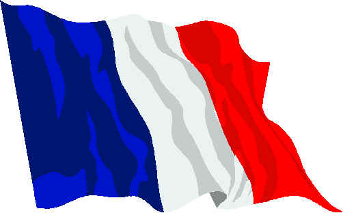 French Flag Clip Art.