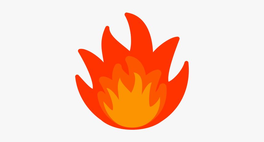 Realistic Fire Flames Clipart Free Clipart Image.