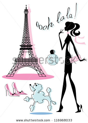 French Poodle Stock Images, Royalty.