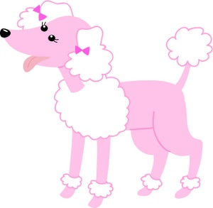 Free Clipart French Poodle Girl.