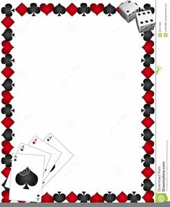 Free Gambling Clipart Borders.