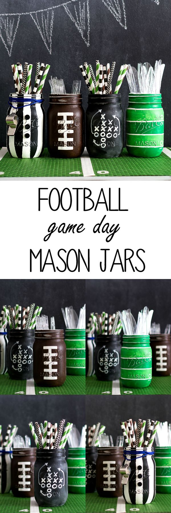 Football party clipart game day.