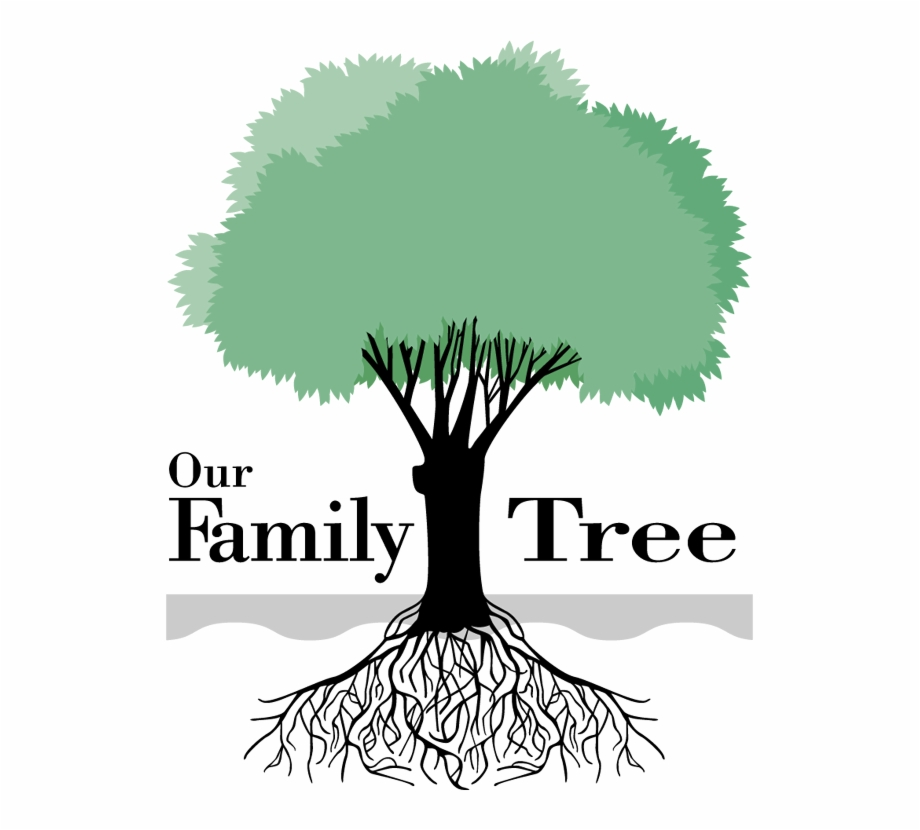 Genealogy Family Tree Clipart.