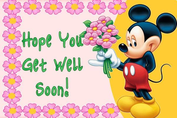 Send Free ECard : Hope You Get Well Soon from Pak101.com.