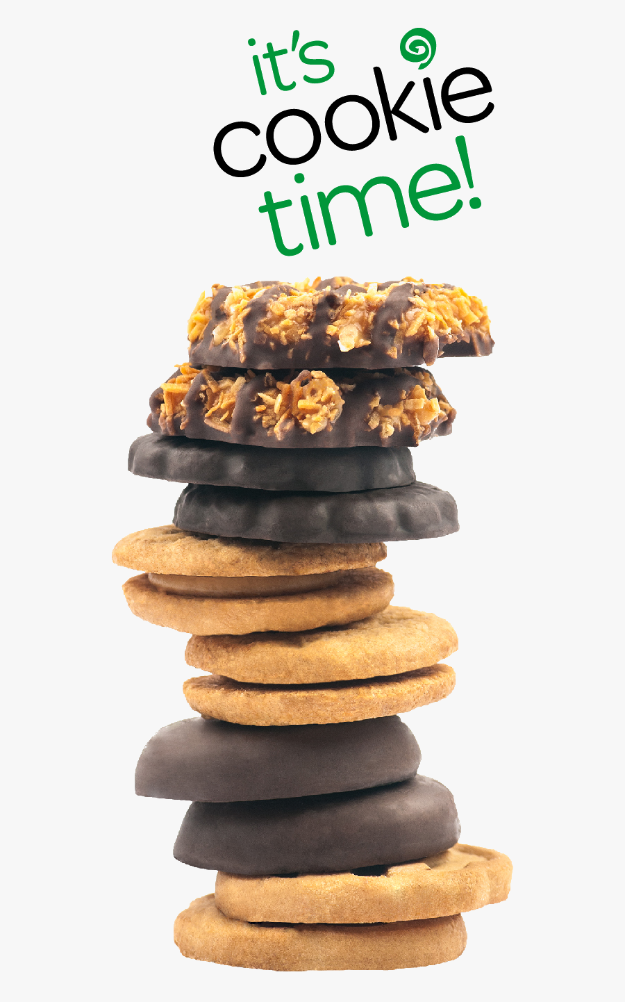 Girl Scout Cookies 2019 Lineup , Free Transparent Clipart.