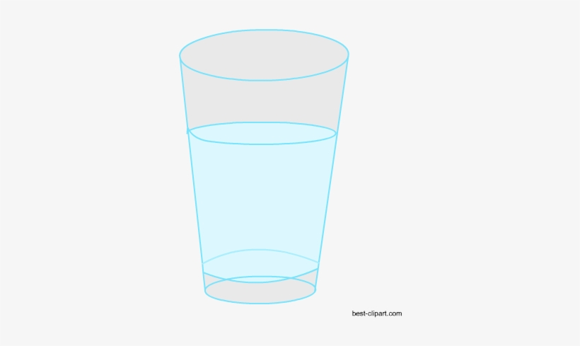 Glass Of Water Free Clip Art.