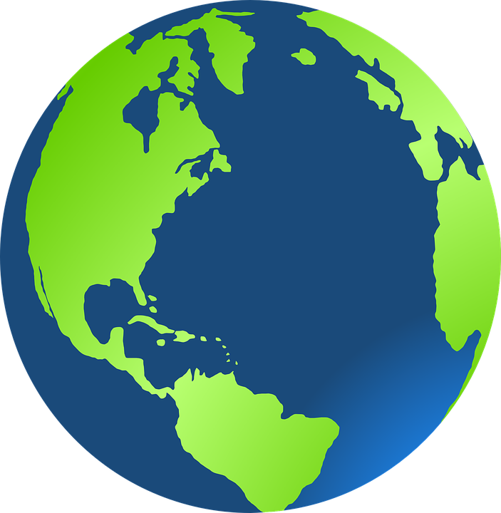 Free clipart globe earth 3 » Clipart Station.