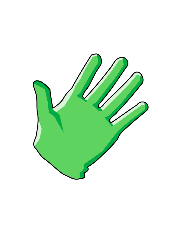 Free Clipart: Cleaning glove.