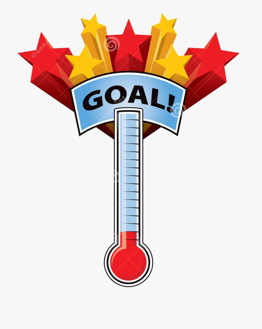 Goal Thermometer Png , Transparent Cartoon, Free Cliparts.