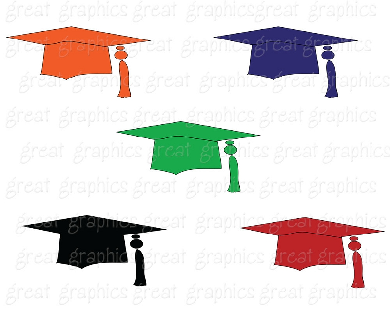Free Graduation Cap And Gown Clipart, Download Free Clip Art.