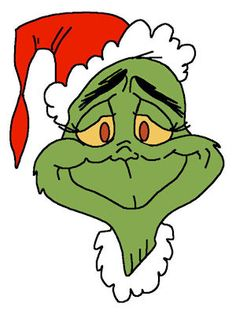 free clipart grinch holding ornament outline #8