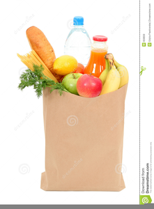 Free Clipart Grocery Bag.