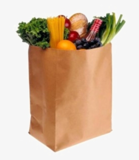 Free Grocery Bag Clip Art with No Background.