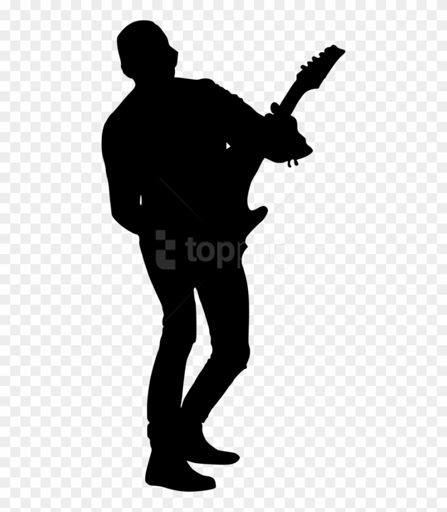 Free Png Electric Guitar Player Png.