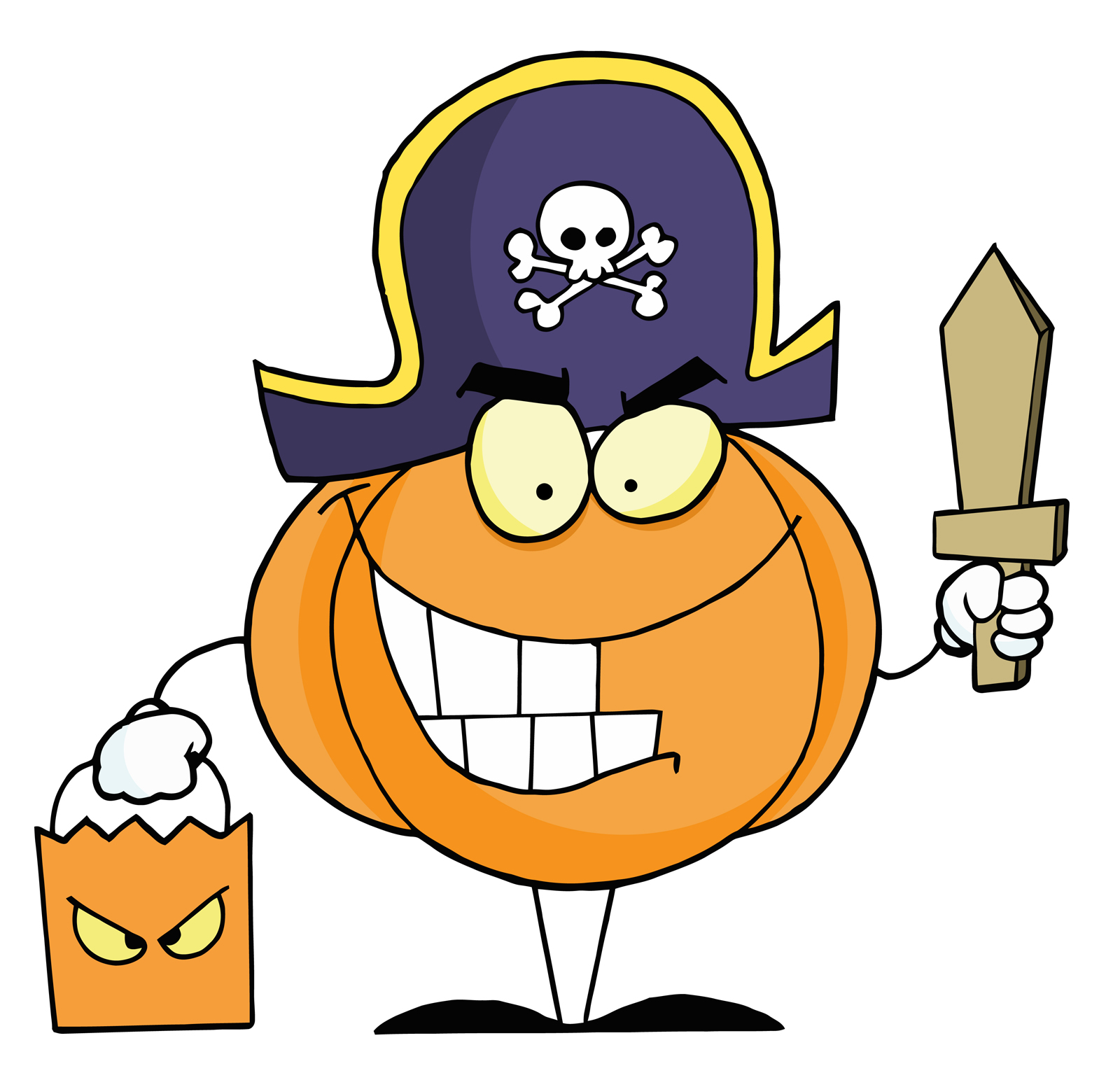 Free Clipart For Kids Halloween Party.