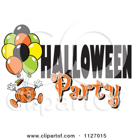 Halloween Party Clip Art.