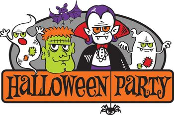 Clipart Halloween Party.