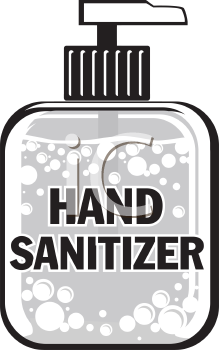 Sanitizers illustrations and royalty.