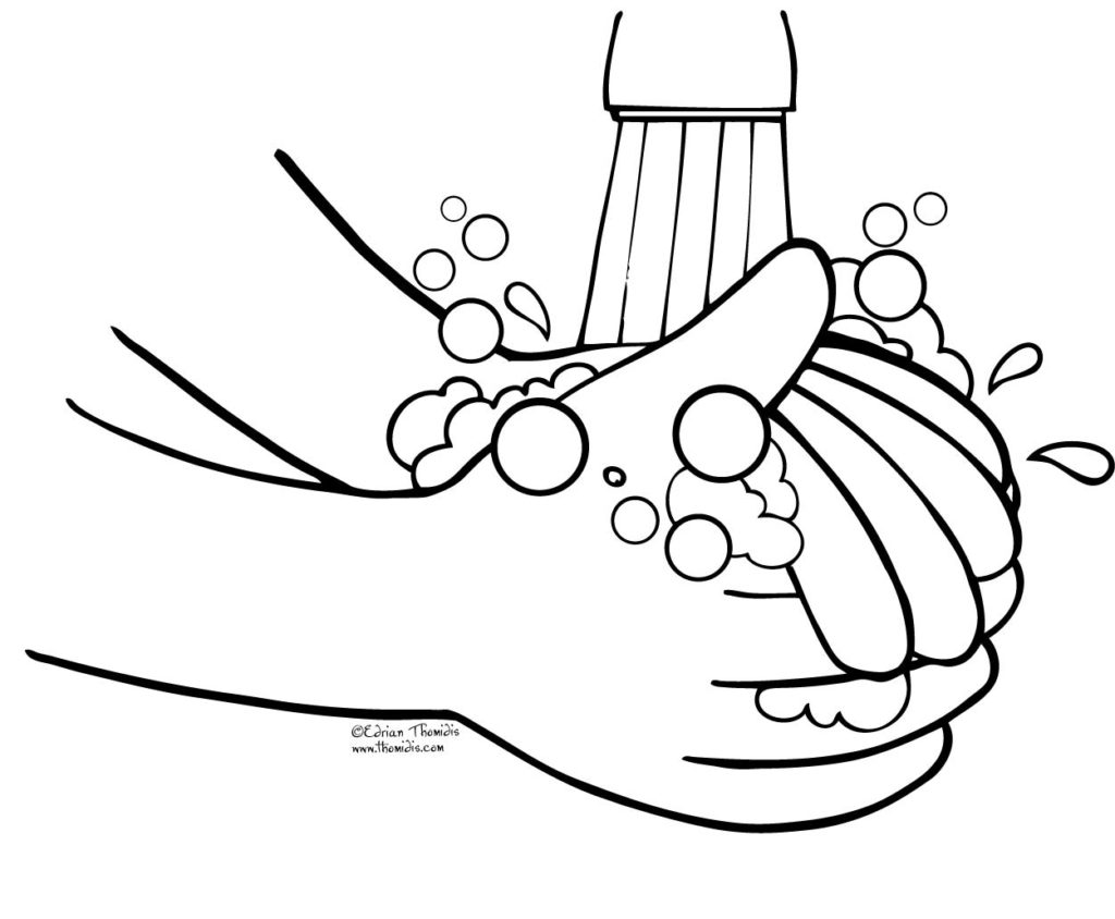 Free Clipart Of Hand Washing.