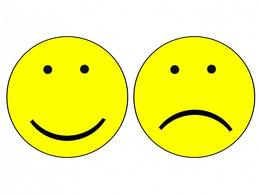 Clipart Of Happy And Sad Faces.