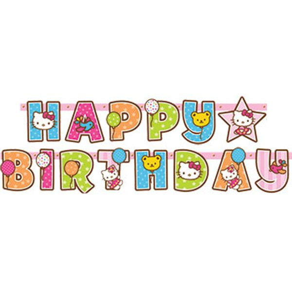 Happy Birthday Banner Clipart.