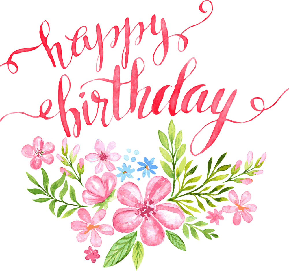 Happy birthday flowers clip art clipart images gallery for free.