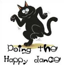 Free Doing the Happy Dance Clipart.