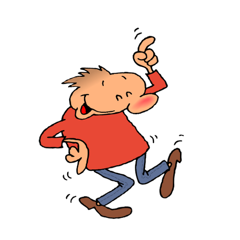 Happy Dance Clipart Animated.