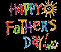 Free clipart happy fathers day.