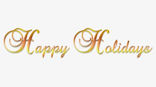 Happy Holidays PNG Images, Free Transparent Happy Holidays.