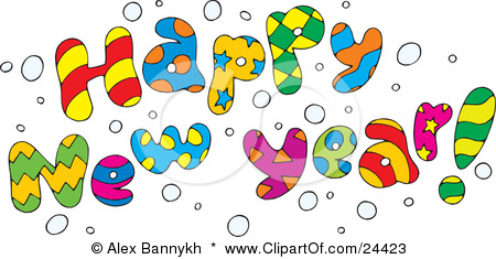 Free Clip Art Happy New Year ., New Years Free Free Clipart.