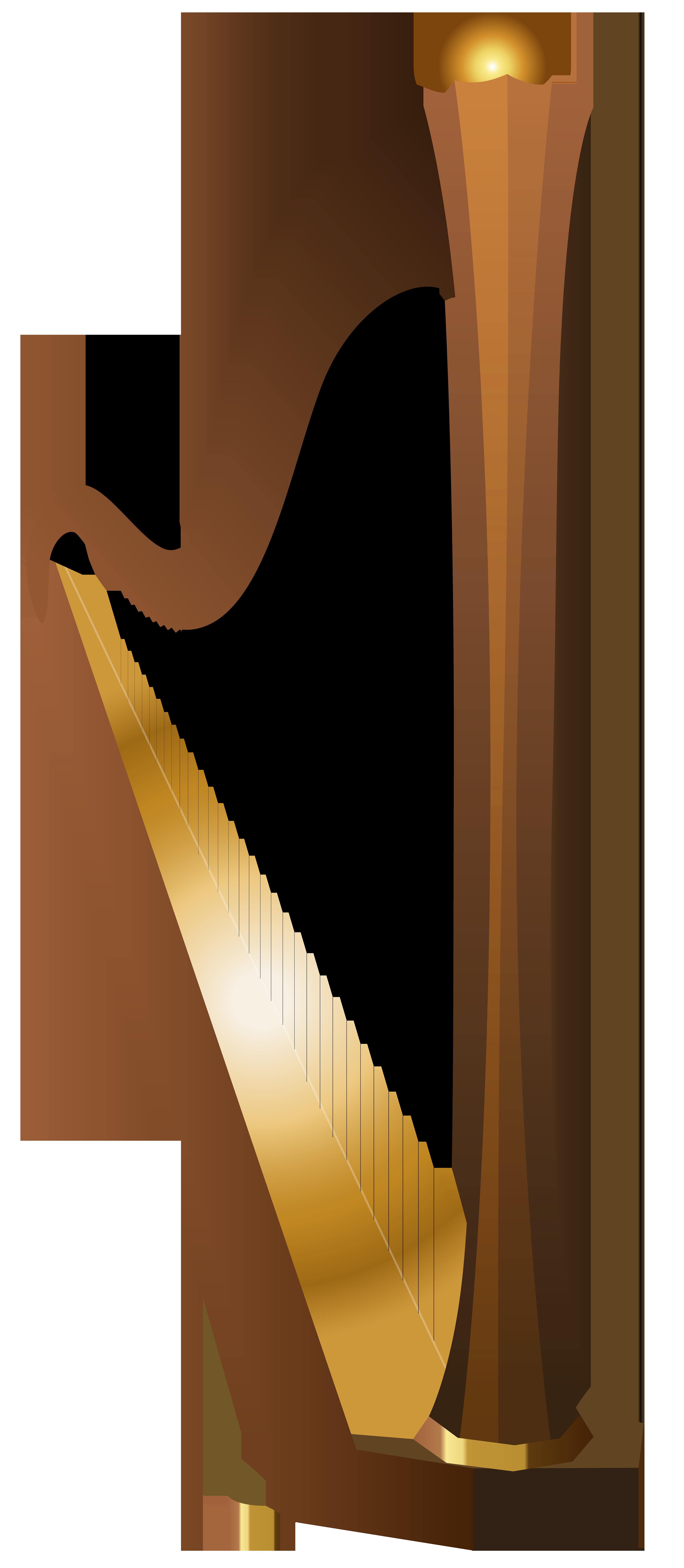 Clipart Harp, Harp Free Clipart.