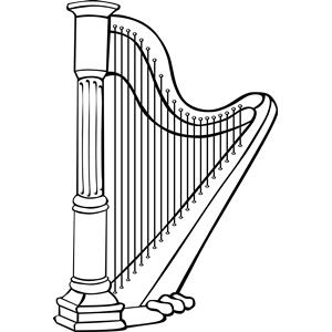 Harp Clip Art & Harp Clip Art Clip Art Images.