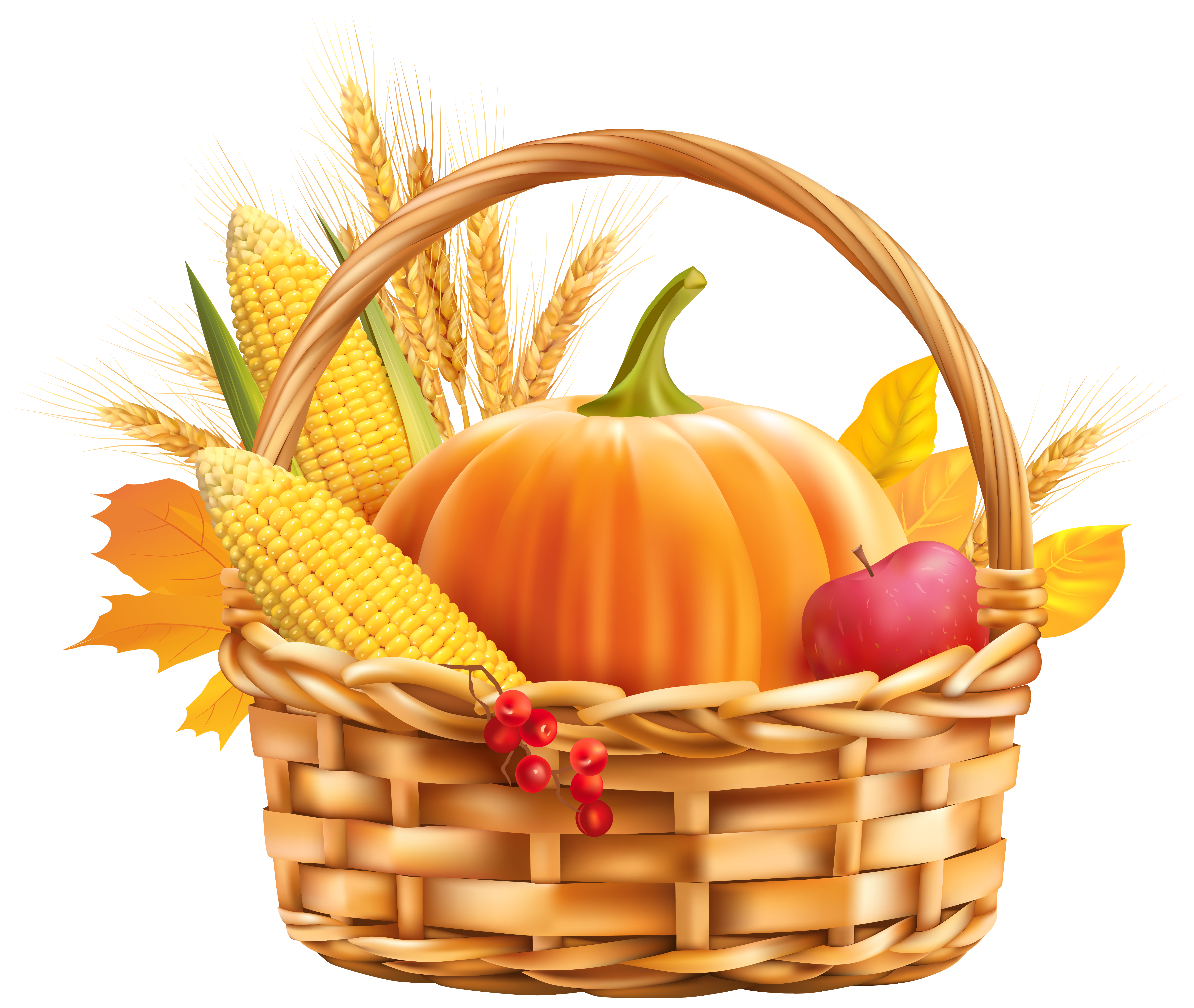 Free clipart image harvest.