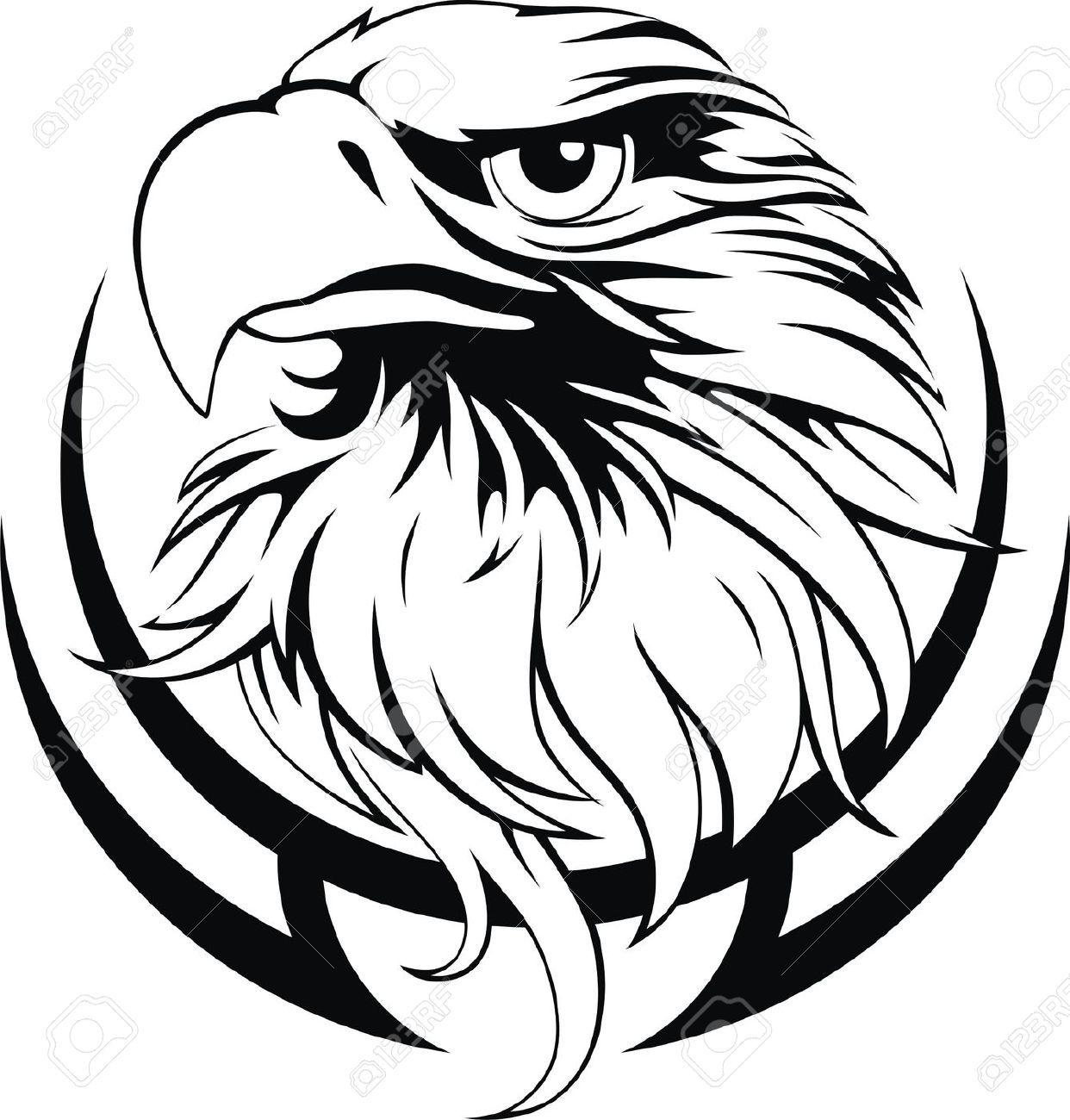 Black Hawk Cliparts, Stock Vector And Royalty Free Black.