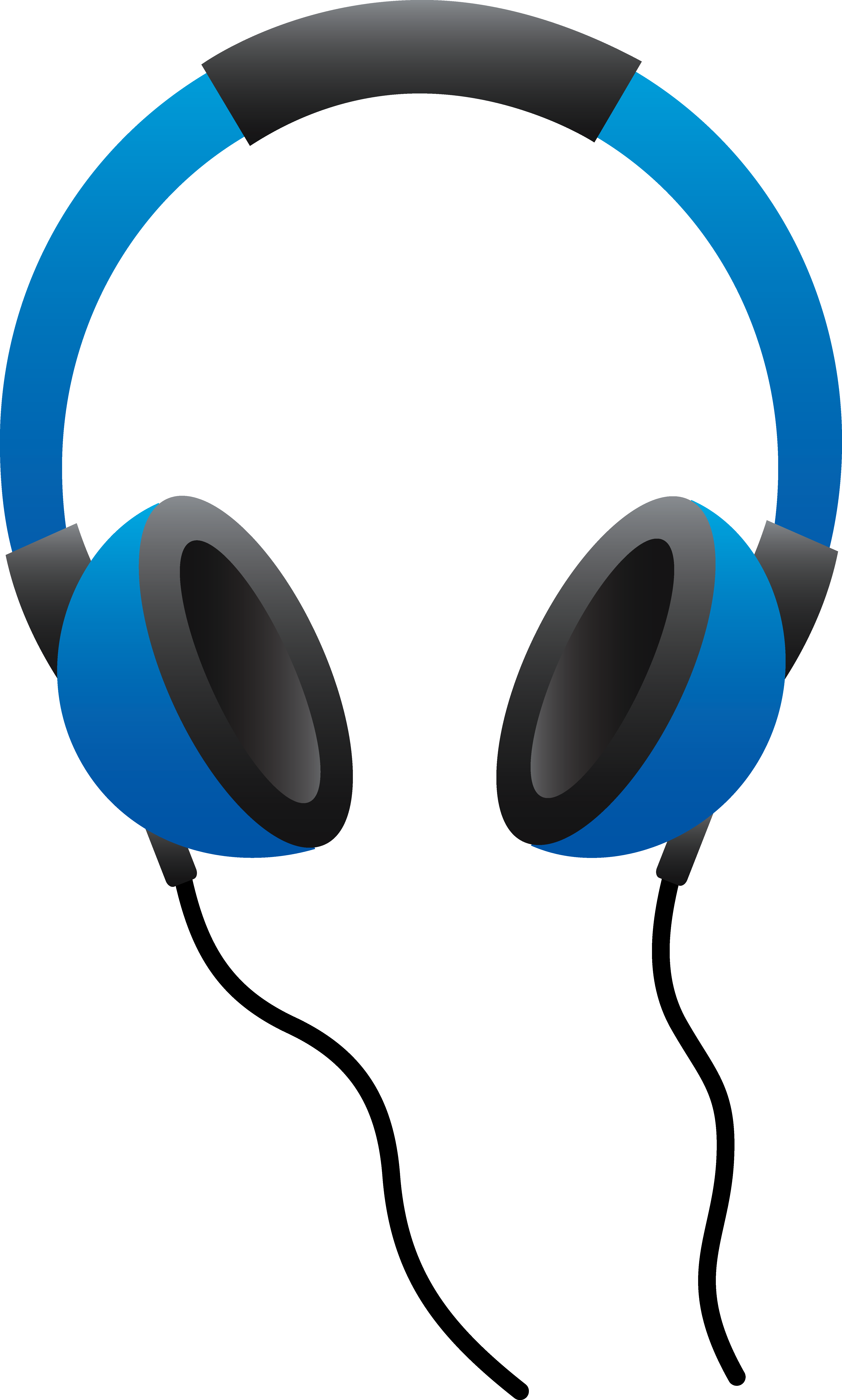 1849 Headphones free clipart.