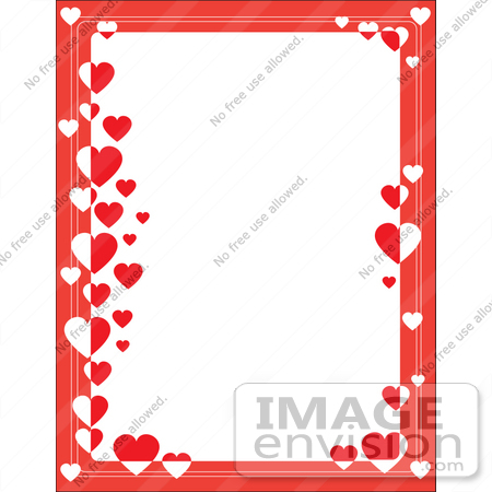 Heart Border Clip Art.
