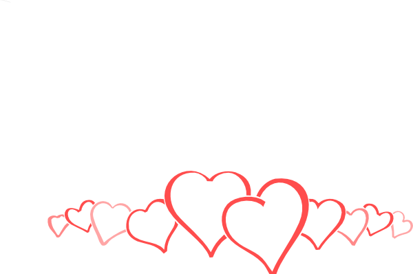Heart Border Clip Art Free.
