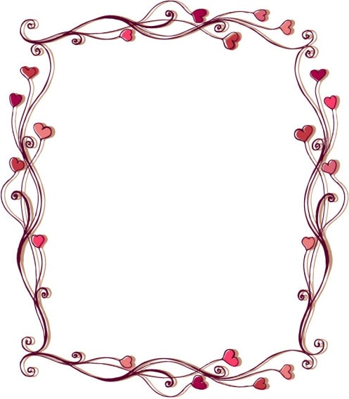 Heart border free vector download (9,087 Free vector) for.
