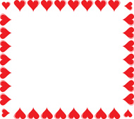 free clipart heart borders