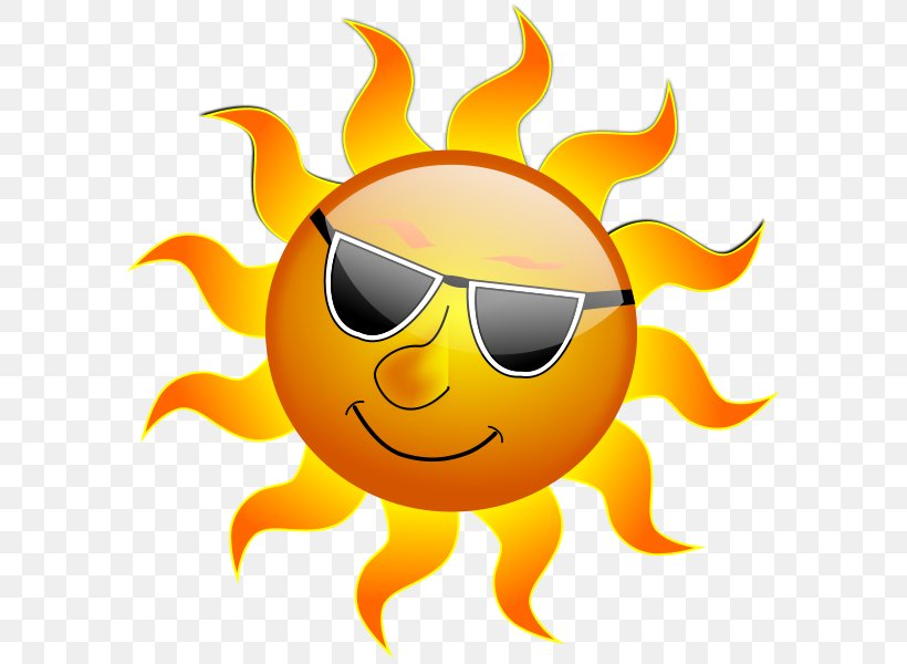 Weather Forecasting Summer Heat Wave Clip Art, PNG.