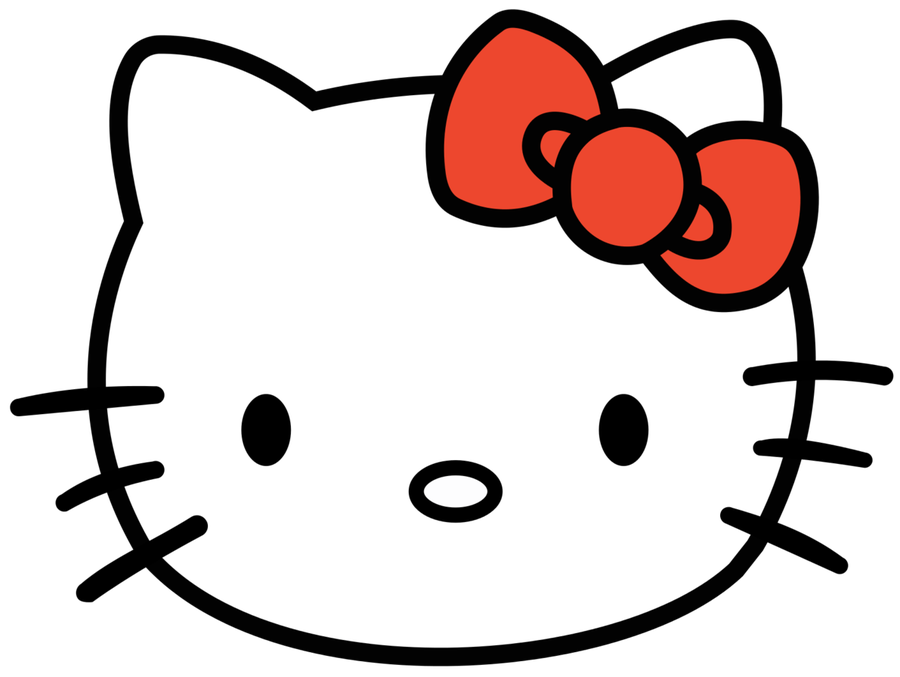 4382 Hello Kitty free clipart.
