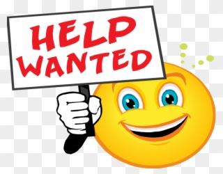 Free PNG Help Wanted Clip Art Download.